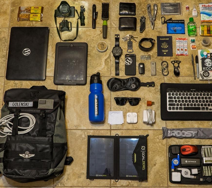 Jeff Golenski - Everyday Gear Bag