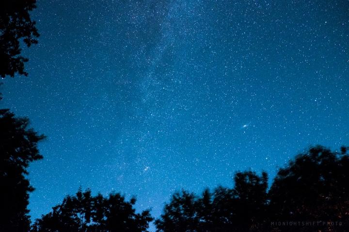 star gazing in maine