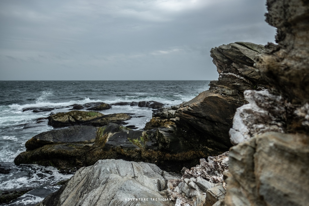 Beavertail State Park in Jamestown Rhode Island